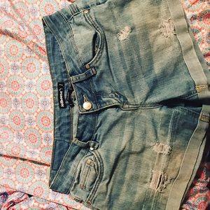 Dollhouse Denim shorts